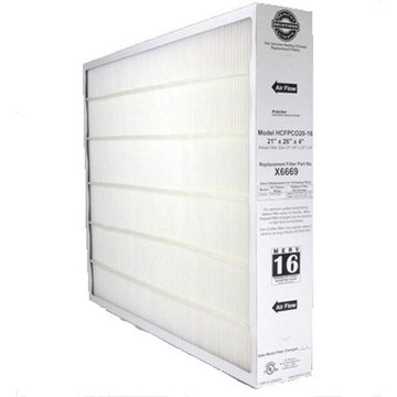 Lennox X6669- Furnace Filter 21x26x4 MERV 16 pleated media filter