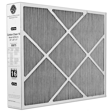 Lennox X6675 - Healthy Climate Carbon Clean HCF20-16 Replacement Filter 20x25x5 MERV 16