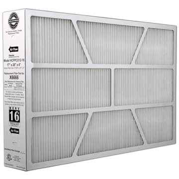Lennox X6666 - PureAir PCO-12C Replacement Filter 17x26x4 MERV 16