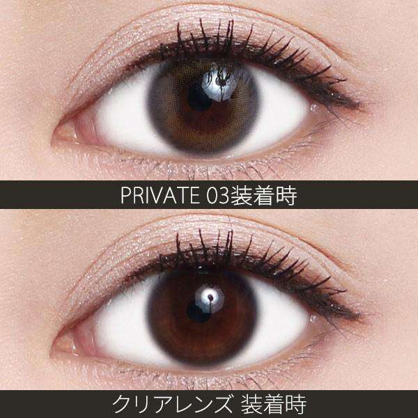 ReVIA 1day COLOR | 1day 10枚入<br>プライベート03 - Push!Color GLOBAL