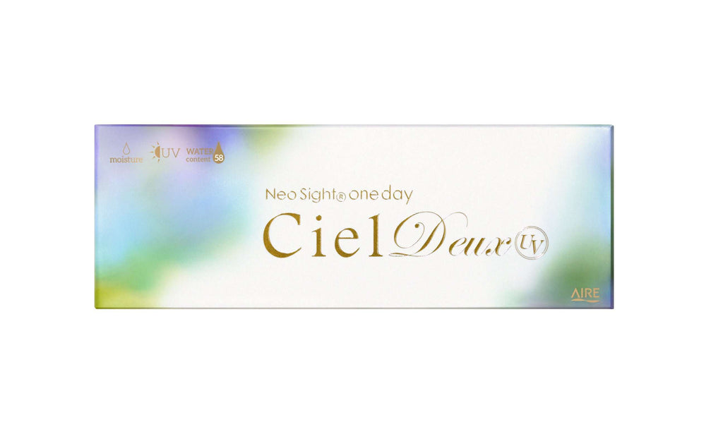 Neo Sight one day Ciel Deux UV | 1day 10枚入/30枚入<br>ルカブラウン - Push!Color GLOBAL