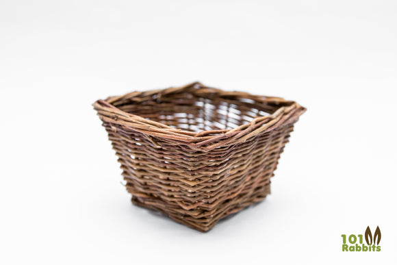 Small - Square Willow Basket