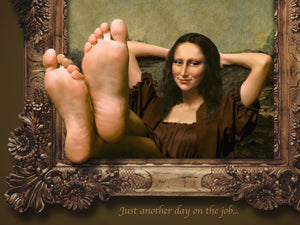 Mona Lisa Feet