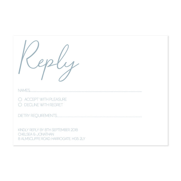 Paper Dreams RSVP Card