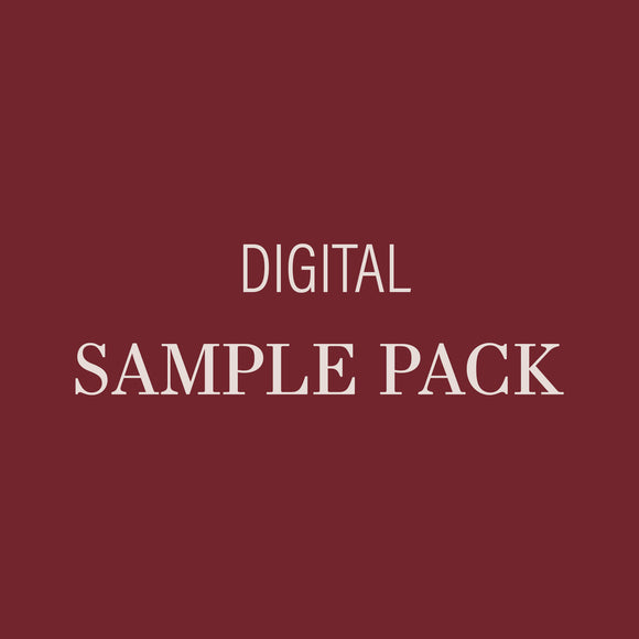Courtney Digital Sample Pack