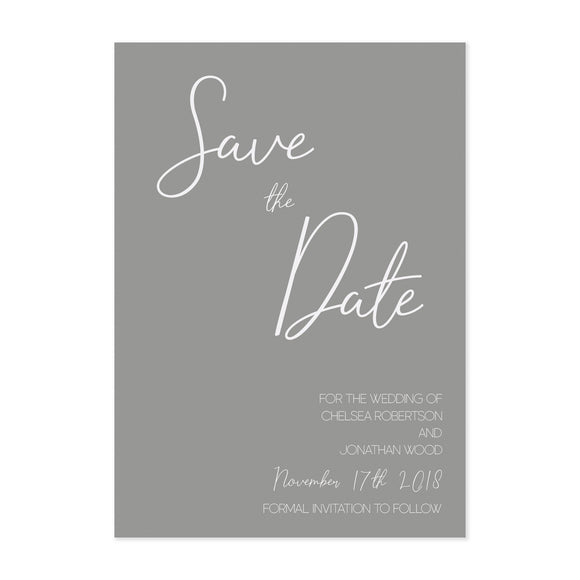 Paper Dreams Save The Date