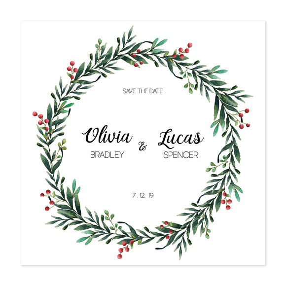Wreath Save The Date