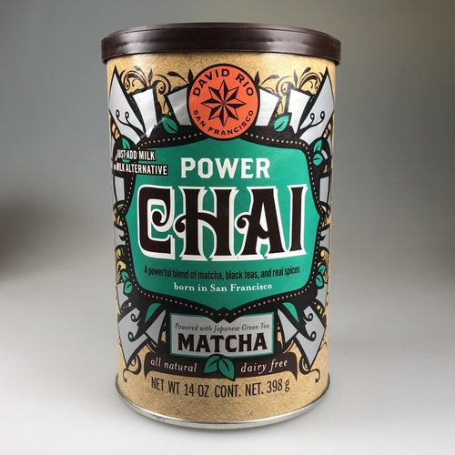 David Rio - Power + Matcha Chai - 398/1814g Dose