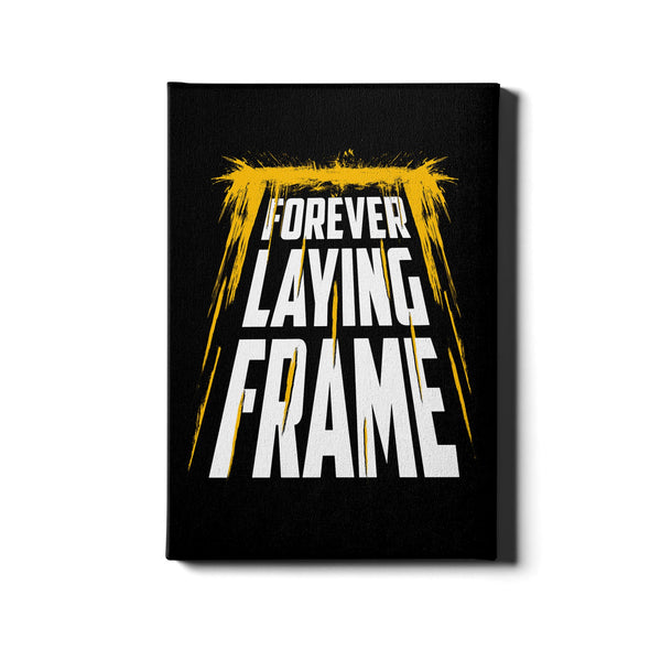 Forever Laying Frame - Canvas