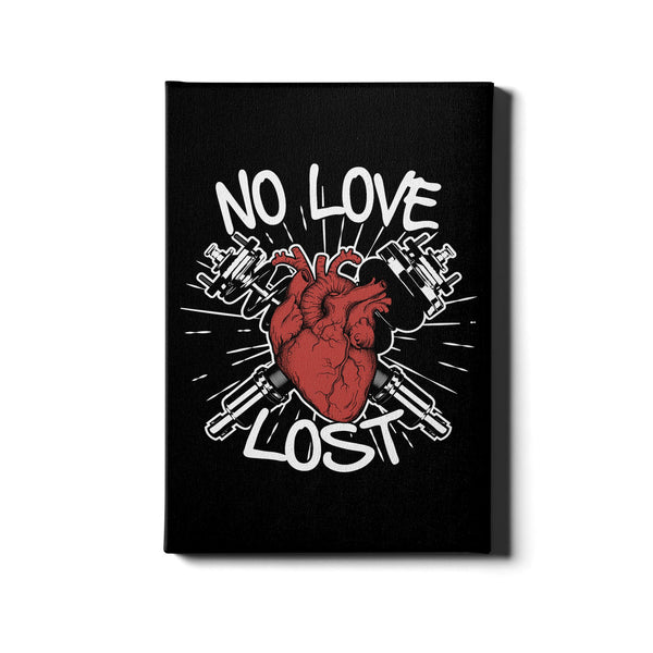 No Love Lost - Canvas
