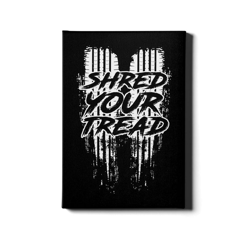 Shred Your Thread - Canvas