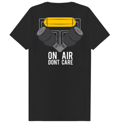 On Air Dont Care Tee - Black