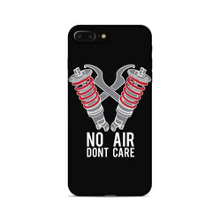 No Air Dont Care Phone Case - Black