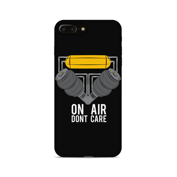 On Air Dont Care Phone Case - Black