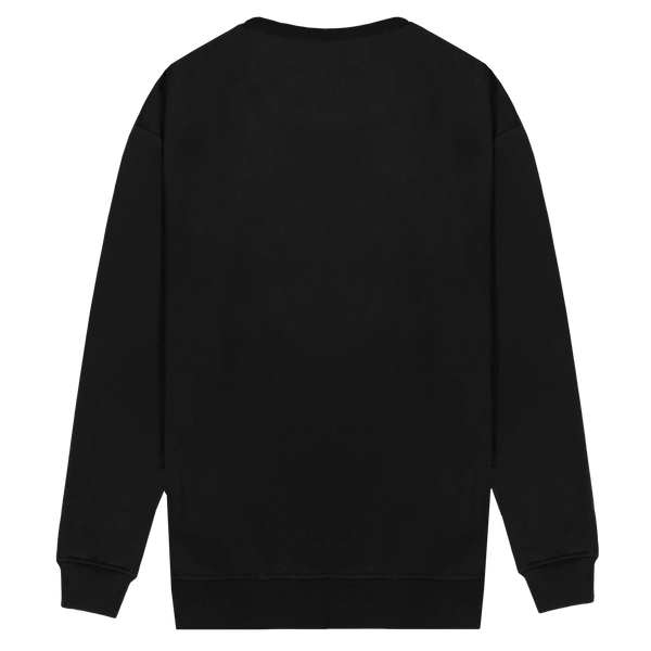 Embroidered Crewneck Sweater