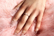 Load image into Gallery viewer, Gold Pink Opal Ring