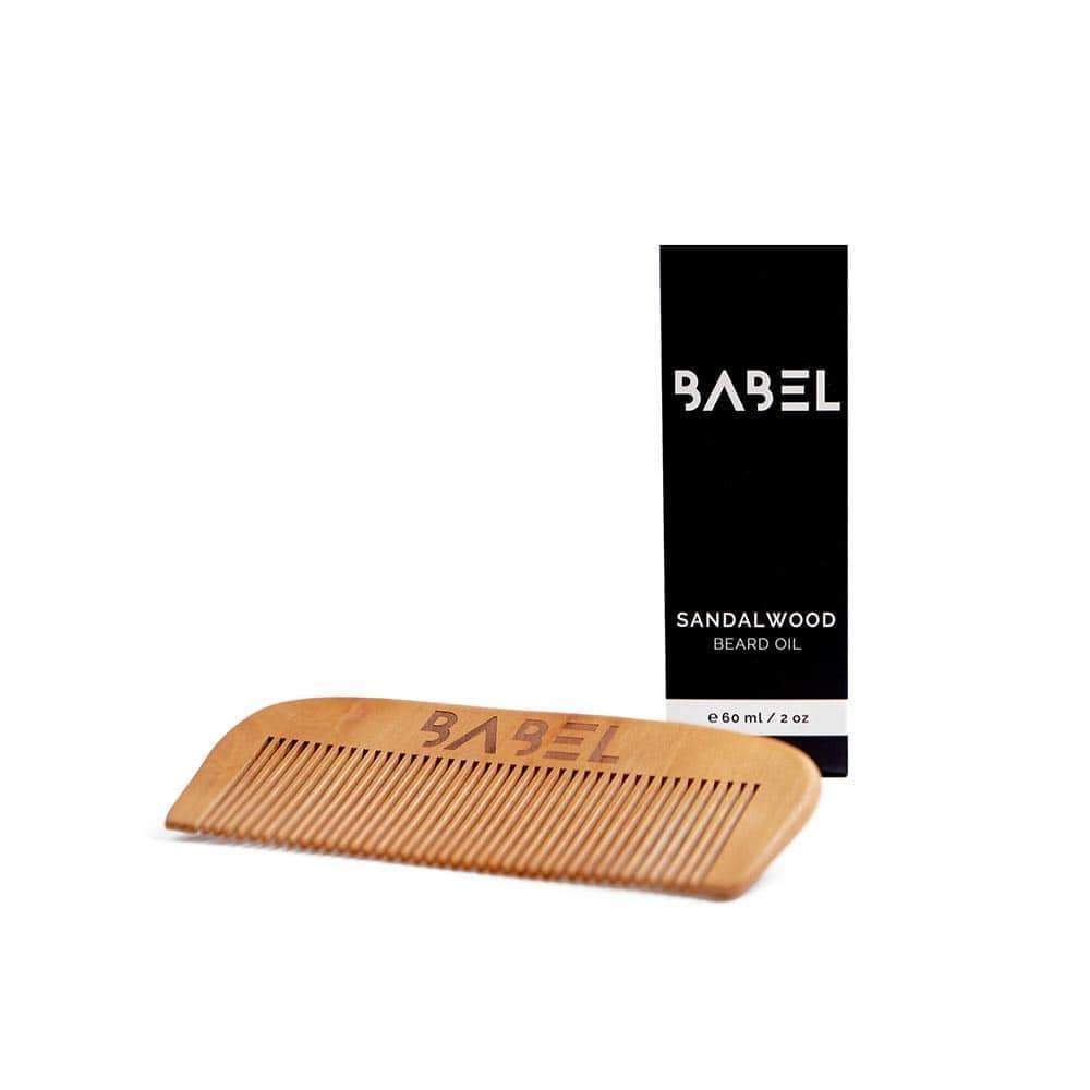 Babel Alchemy Beard Kit Beard Oil & Pear Wood Beard Comb Bundle