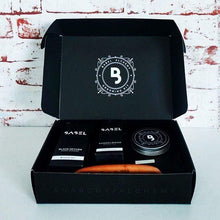 Load image into Gallery viewer, Babel Alchemy Beard Kit Black Box Beard Grooming Kit