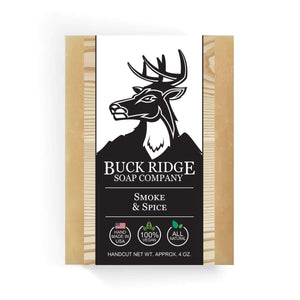Black Oliver Men's Handmade Soap Buck Ridge - Smoke and Spice Handmade Beard Soap