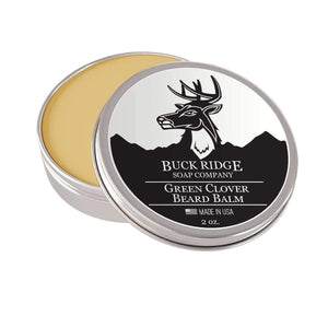 Buck Ridge Beard Balm Buck Ridge Green Clover Beard Balm