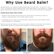 Load image into Gallery viewer, Buck Ridge Beard Balm Buck Ridge Peppermint Beard Balm