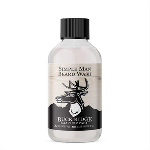 Buck Ridge Beard Wash Buck Ridge - Simple Man Beard Wash