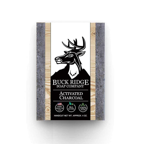 Buck Ridge Men's Handmade Soap Buck Ridge - Activated Charcoal Handmade Soap