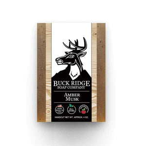 Buck Ridge Men's Handmade Soap Buck Ridge - Amber Musk Handmade Soap