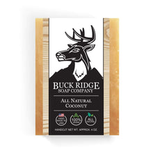 Load image into Gallery viewer, Buck Ridge Men's Handmade Soap Buck Ridge - Coconut Handmade Soap