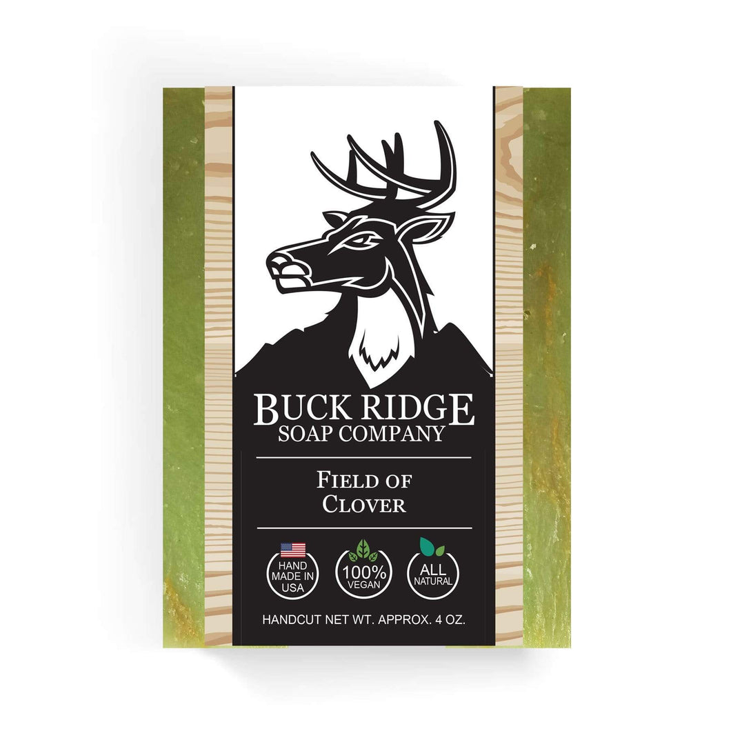 Buck Ridge Men's Handmade Soap Buck Ridge - Field of Clover Handmade Soap