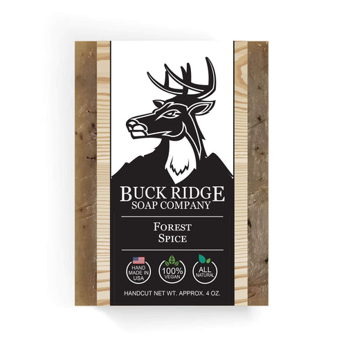 Buck Ridge Men's Handmade Soap Buck Ridge - Forest Spice Handmade Soap