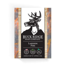 Load image into Gallery viewer, Buck Ridge Men's Handmade Soap Buck Ridge - Lakeside Fire Handmade Soap