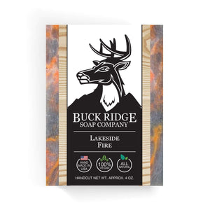 Buck Ridge Men's Handmade Soap Buck Ridge - Lakeside Fire Handmade Soap
