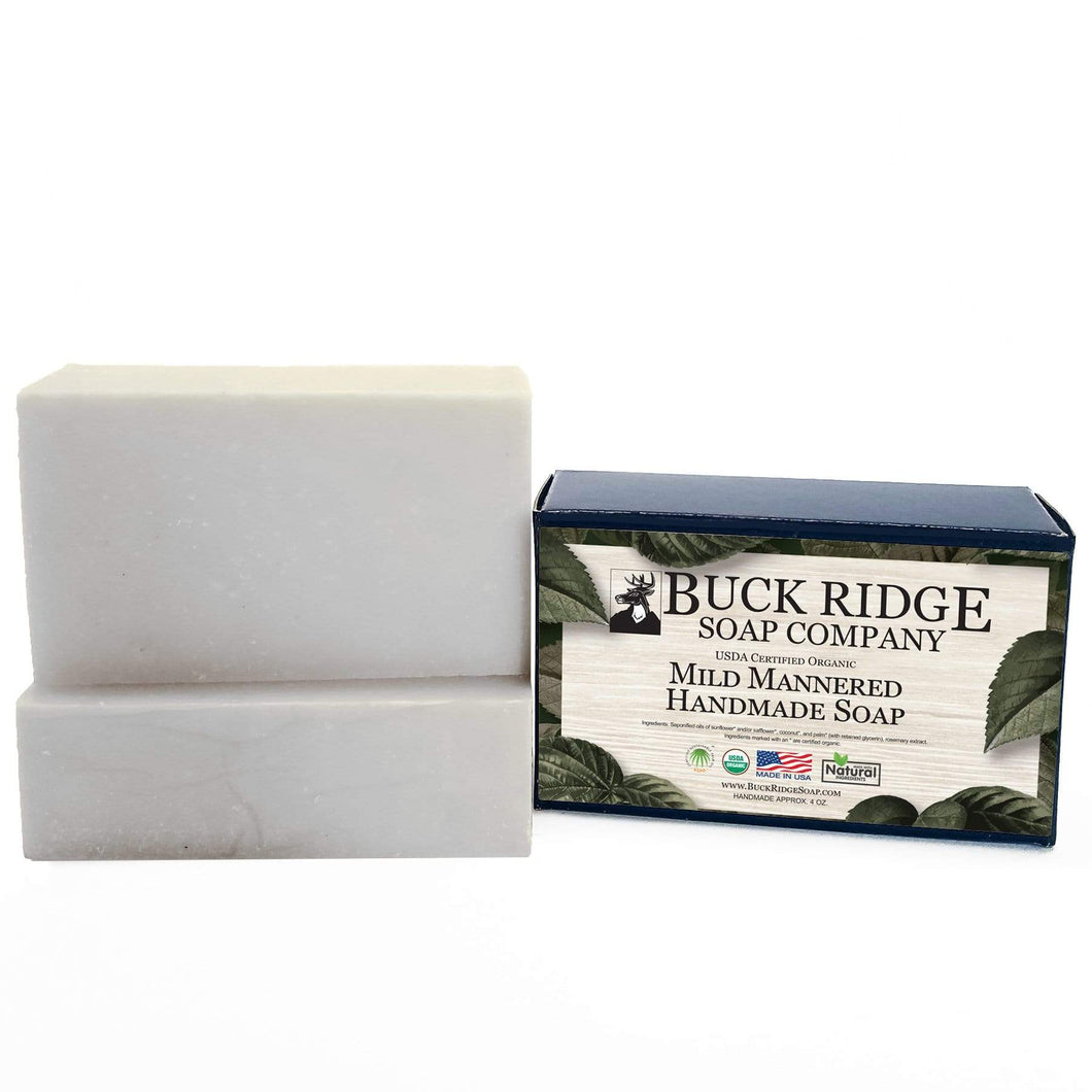 Buck Ridge Men's Handmade Soap Buck Ridge - Mild Mannered Men's Handmade Soap