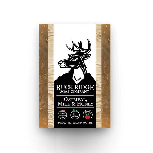 Buck Ridge Men's Handmade Soap Buck Ridge - Oatmeal Milk and Honey Handmade Soap