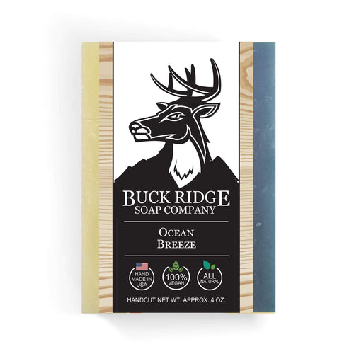 Buck Ridge Men's Handmade Soap Buck Ridge - Ocean Breeze Handmade Soap