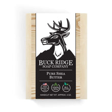 Load image into Gallery viewer, Buck Ridge Men's Handmade Soap Buck Ridge - Pure Shea Handmade Soap