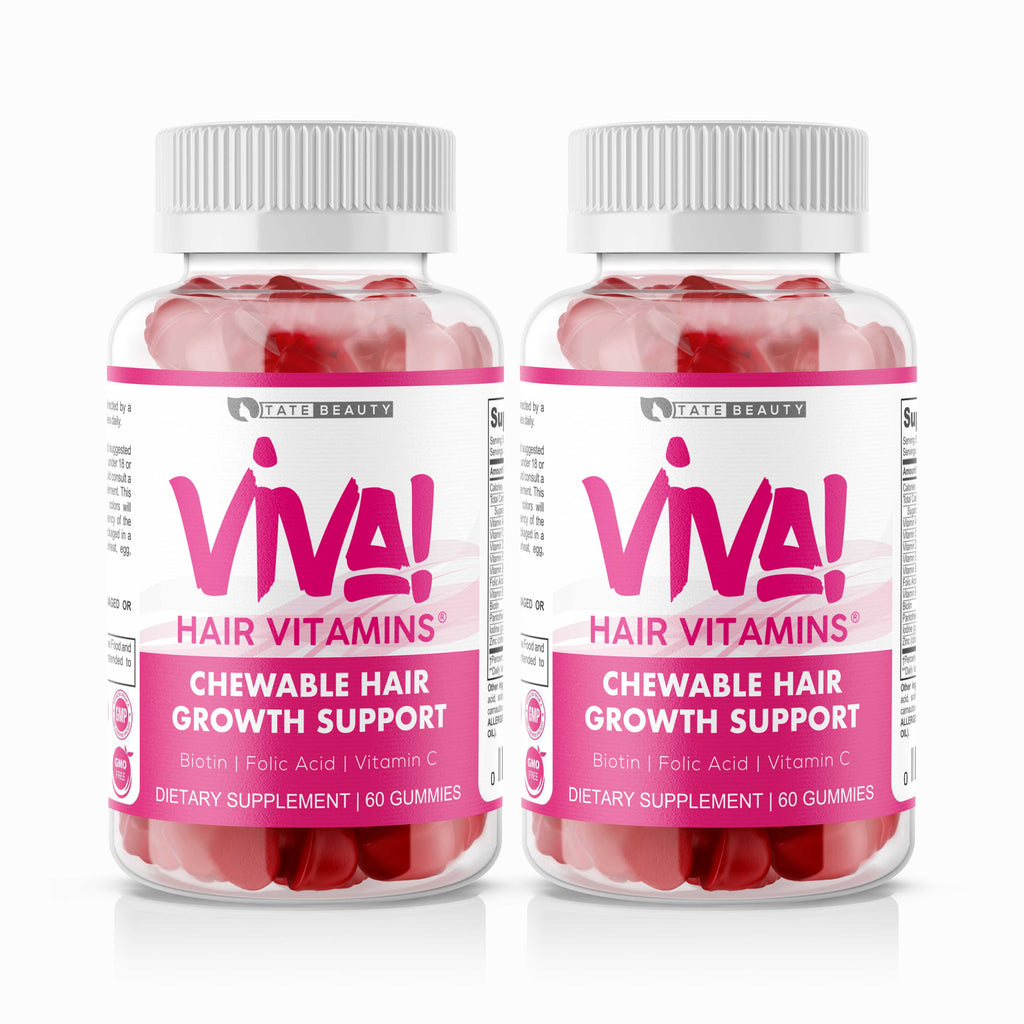 VIVA HAIR VITAMINS - 2 MONTH - Tate Beauty, LLC