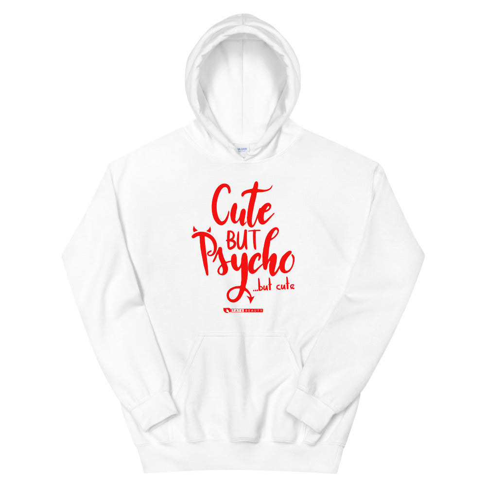 Cute But Psycho Hoodie - viva hair vitamins