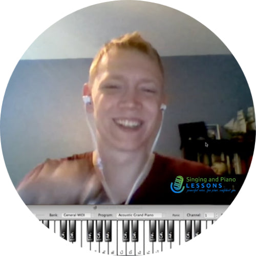 Jeremy - Testimonials, Singing and Piano Lessons