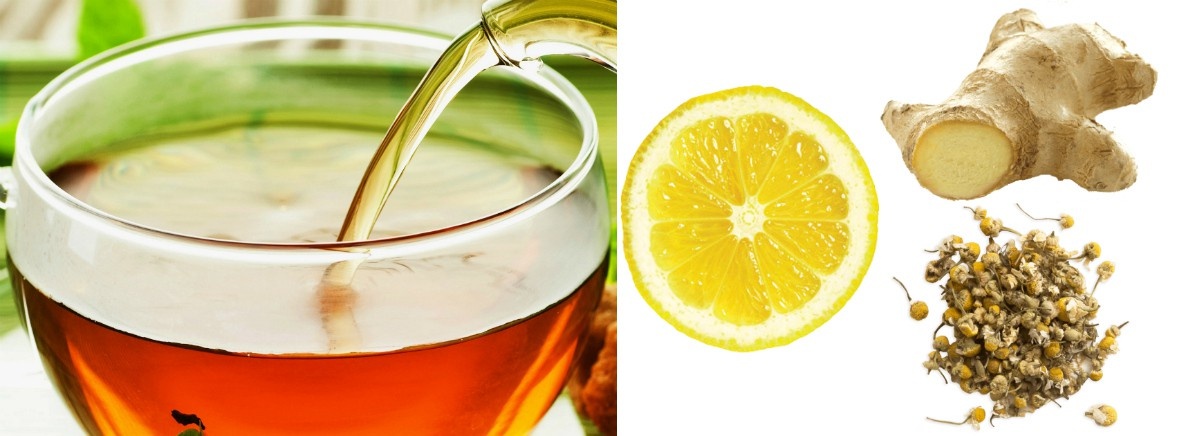Lemon, Ginger, Chamomile tea is great for Singers 4-Lemon, Ginger, Chamomile tea