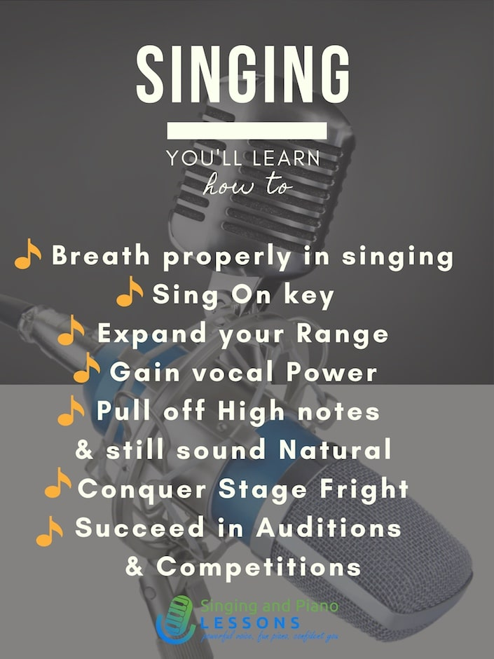 Private Singing Lessons - Singing and Piano Lessons