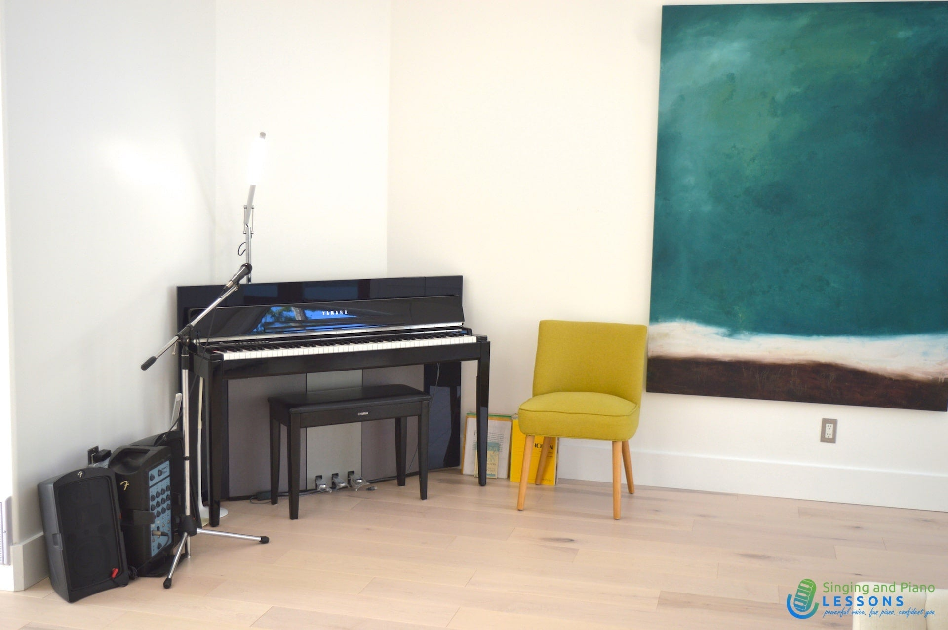 Private Singing Piano Lessons Online via Skype