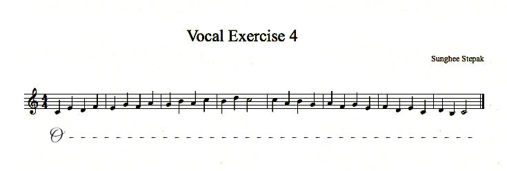 Vocal Exercise 4