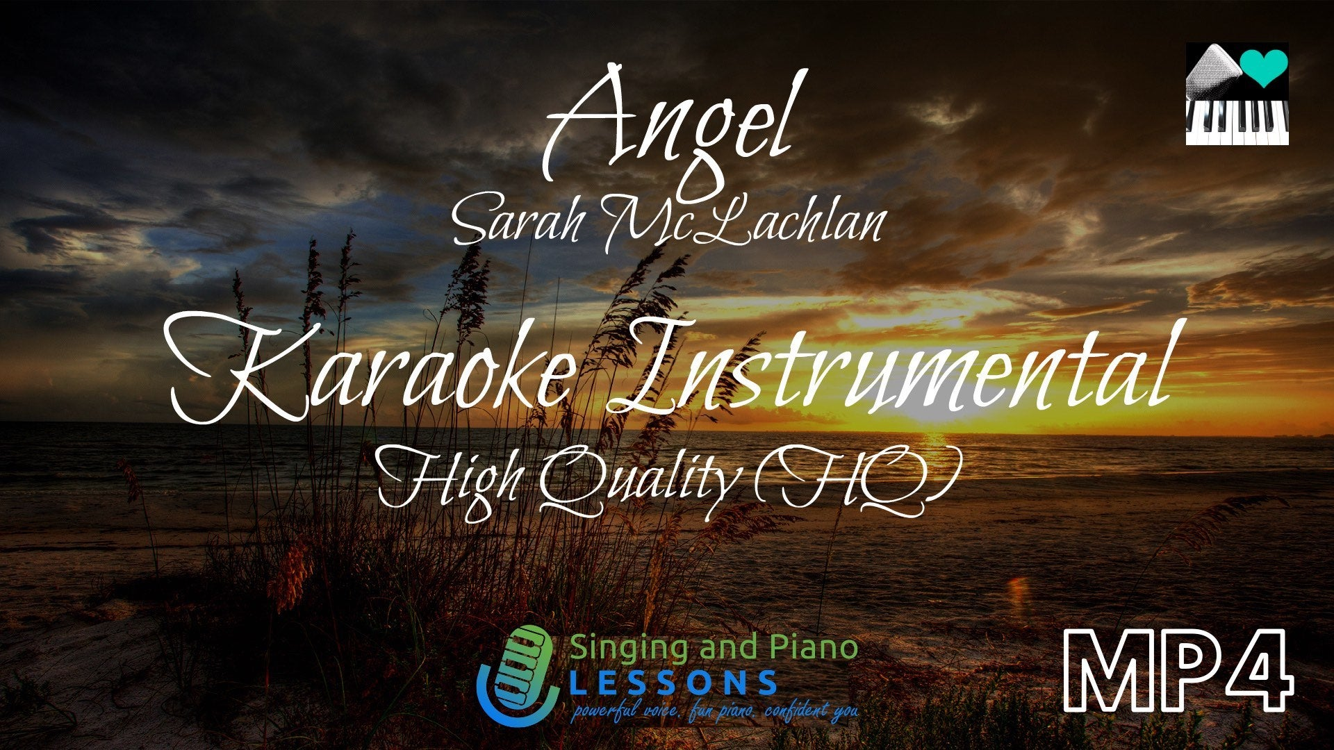 Angel Sarah McLachlan Karaoke Instrumental - Video MP4