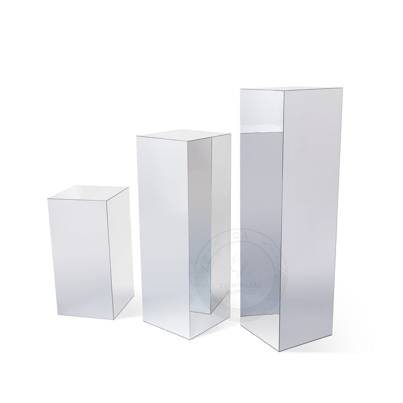 Mirrored Stands