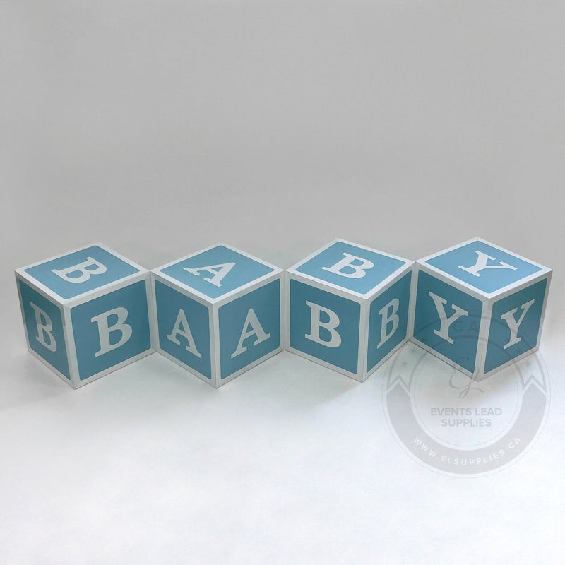 BABY Shower Block Letters