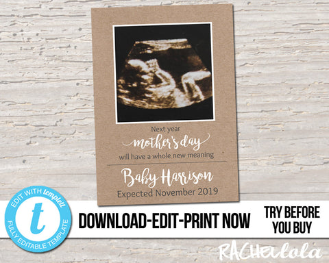 Mommy to Be  Digital Chalkboard Pregnancy Announcement Mom to Be Mother/'s Day Pregnancy Reveal Due in NOVEMBER Baby Announcement Printable