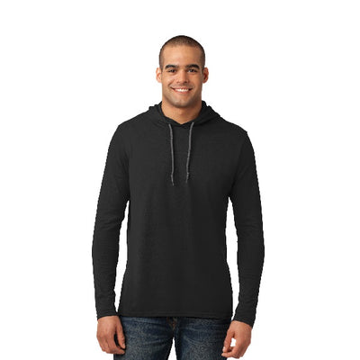 100% Combed Ring Spun Cotton Long Sleeve Hoodie
