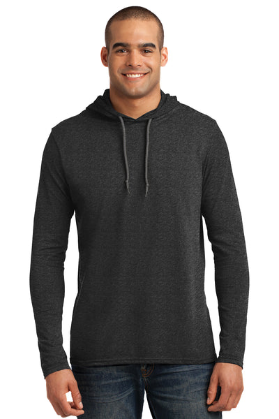 Combed Ring Spun Cotton Long Sleeve Hoodie